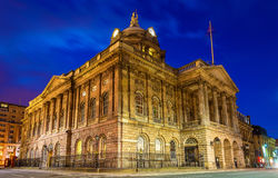 Liverpool Town Hall in the evening. England stock image