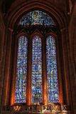Liverpool Cathedral. LIVERPOOL, UK - APRIL 20, 2013: Interior view of famous Liverpool Cathedral. The cathedral dates back to 1904 and is one of largest churches Stock Photography