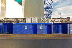 LIVERPOOL UK JANUARY 8TH 2016. Goodison Park Stadium, home of Ev. Erton Football Club. Liverpool UK Royalty Free Stock Photos