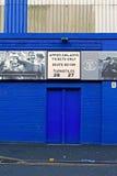 LIVERPOOL UK JANUARY 8TH 2016. Goodison Park Stadium, home of Ev Stock Photos