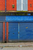 LIVERPOOL UK 3RD APRIL 2016 A street of derelict shops being sold by the council Stock Image