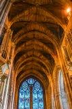 Liverpool, UK Wewnętrzny widok Liverpool katedra - 03 2015 Kwiecień - Zdjęcia Stock