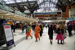 Liverpool ulicy stacja Fotografia Royalty Free