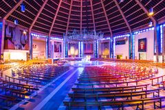 Metropolitan Cathedral in LIverpool, UK royalty free stock image