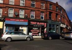 Liverpool, vicolo di Panny, Gran Bretagna fotografia stock libera da diritti