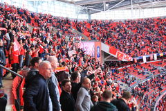 Liverpool vs Everton FA Cup Semi Final 2012 Stock Image