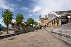 Liverpool wapna ulicy dworzec Fotografia Royalty Free