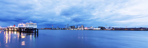 Liverpool Waterfront Royalty Free Stock Photo
