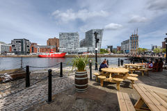 Liverpool Waterfront,UK. Liverpool Waterfront is a great place to visit with a whole host of things to do in a breathtaking and iconic setting stock photography
