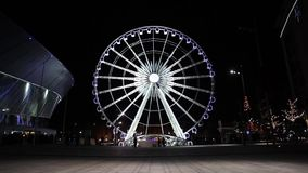 The Liverpool Wheel stock video