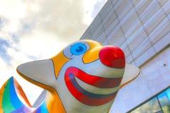 Liverpools berömda skulptur Fotografering för Bildbyråer