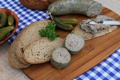 liverwurst Arkivbilder