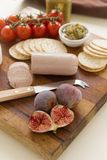 Liverwurst And Figs Royalty Free Stock Image