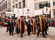 Livery Companies Lord Mayor's Show London Stock Images