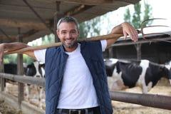 Livestock farm Stock Image