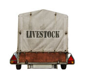 Livestock Trailer Royalty Free Stock Images
