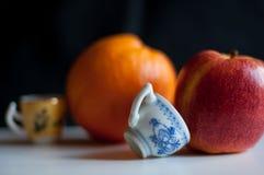 Livet av äpplet Royaltyfri Foto