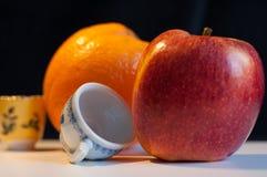 Livet av äpplet Arkivbilder