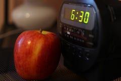 Livet av äpplet Arkivfoton