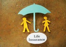 Livförsäkringpar Royaltyfri Foto