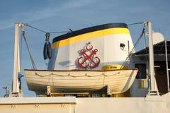Livfartyg, färja för offentligt trans., Istanbul, Turkiet Royaltyfri Bild