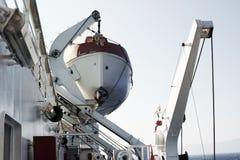 Livfartyg på passagerareskeppet Fotografering för Bildbyråer