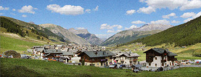 Livigno fotos de stock