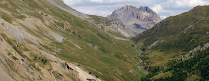 Livigno eira pass. Livigno, northern lombardy. swiss border Royalty Free Stock Photos