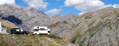 Livigno eira pass. Livigno, northern lombardy. swiss border Royalty Free Stock Image