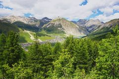 Livigno, Italy Stock Images