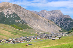 Livigno landscape Stock Photos
