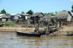 Living along the Mekong Delta Stock Images