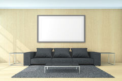 Living Area For Background Concept 3d Rendering stock photos