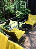 Living area open air. Stock Photos