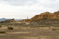 Living in Bardenas Stock Image