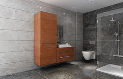 Living bathroom Stock Images
