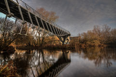 The Living Bridge. At the university of Limerick Royalty Free Stock Photos