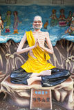 Living Buddha Ji Gong Statue Stock Photo