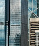 Living buildings in Central Hong Kong overpopulation royalty free stock photography