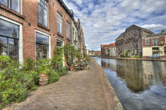 Living on a Canal Royalty Free Stock Photo
