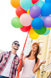 Living a colorful life. Royalty Free Stock Images