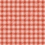 Living Coral color of the Year 2019. gingham tablecloth texture background seamless with coral in trendy color royalty free stock photography