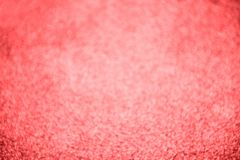 Living coral colour bokeh abstract background. Living coral colour bright bokeh abstract background defocused lights royalty free stock photos