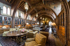 Living and dining rooms. Hearst Castle. Royalty Free Stock Photos