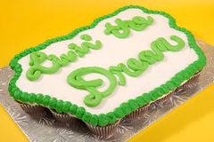 Living the Dream Cupcake Cake Royalty Free Stock Images