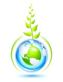 Living Earth stock illustration