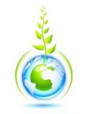 Living Earth royalty free illustration