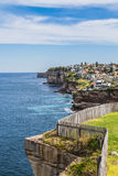 Living on the edge in Sydney Royalty Free Stock Photos