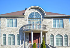 Living expensive homes Stock Photography