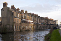 Living on the Grand Union Canal. Royalty Free Stock Photos